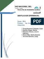 6. Problemas - Destilacion Diferencial
