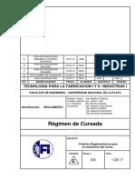 Reglamento 2015- Regimen de Cursada TF I y II - Cronograma y Contenidos Analiticos (1)