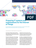 Preparing IT Systems and Organizations for the Internet of Things
