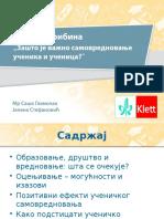 Samovrednovanje Glamočak-Stefanović