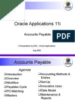 Oracle Accounts Payable