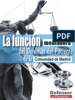 La Funcion Mediadora Del Defensor Del Paciente