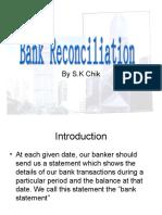 Bank Reconciliation I