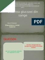 Dozarea glucozei