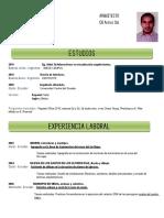 Curriculum Vitae - Arq. Pedro Pilamunga