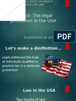 The Legal Profession in the USA