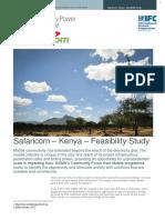 Safaricom Feasibility Study