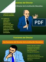 Ponencia de Funciones Del Director de i.e.