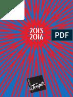 La Cartoucherie Saison 2015 2016 210615