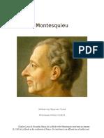 Montesquieu Minibiography