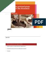 Studiu PwC Privind Piata Cafelei Din Romania