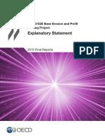Beps Explanatory Statement 2015