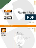 5. Filtros Donsson - Filtración de Aceite.