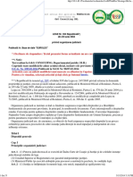Legea 304 Privind Organizarea Judiciara Republicata in 2014