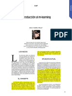Introducción Al M-Learning