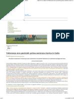 Tolleranza Zero Pesticidi_ Prima Sentenza Storica in Italia