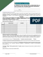 Modulo Per Autocertificazione Del Reddito Quota Fissa 2013