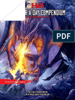 Homebrew Content - Monster a Day Compendium