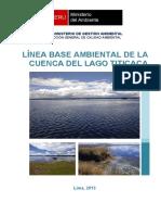 Linea Base Ambiental Del Lago Titicaca