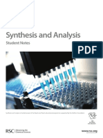 Synthesis Analysis StudentPack