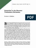 Mishkin-Symposium on the Monetary Transmission Mechanism