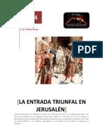 La Entrada Triunfal en Jerusalén Juan 12