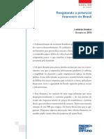 Resgatando O Potencial Financeiro Do Brasil - Ladislau Dowbor
