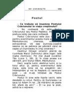 Papacioc Arsenie - Despre Post