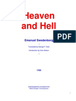 Heaven and Hell - Swedenborg