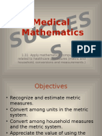 1 PP Medical Mathematics Success