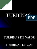 Turbinas de Vapor y Gas