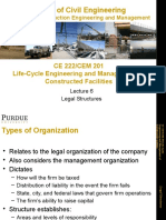 Lecture 6-Legal Structures