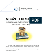 Lab04 - Análisis Granulométrico por Tamizado - UPAO - SUELOS