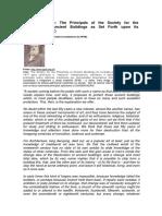 SPAB Manifesto
