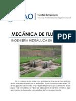 Monografía Ingenieria Hidraulica en el Peru - UPAO