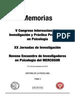 _rea Historia de La Psicología - Trabajos Libres y Pósters
