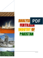 Analysis of Fertilizer Industry of Pakistan