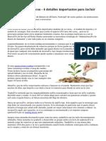 Forex Trading troncos - 4 detalles importantes para incluir