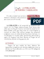 La Población Mundial, Española y Andaluza