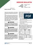 Boletin de Servicio Mantenimiento de Baterias 17-2964