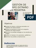 Exposicion Cuerpo Extraño