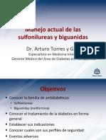Manejo Actual de Las Sulfonilureas y Biguanidas