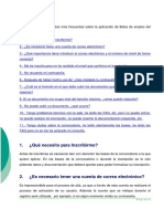 FAQs Selecta Sescam
