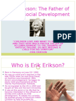 Erik Erikson's Psychosocial Theory of Development