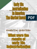 Early Industrialization in America