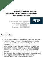 Presentasi Sensor Network