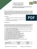 Protocolo para el manejo de la nutrición parenteral total en Neonatología
