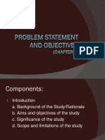 problem statement and objectives