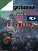 Panzerfauste Mass Battle