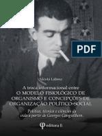 A troca informacional entre o modelo fisiológico de organismo e concepções de organização político-social